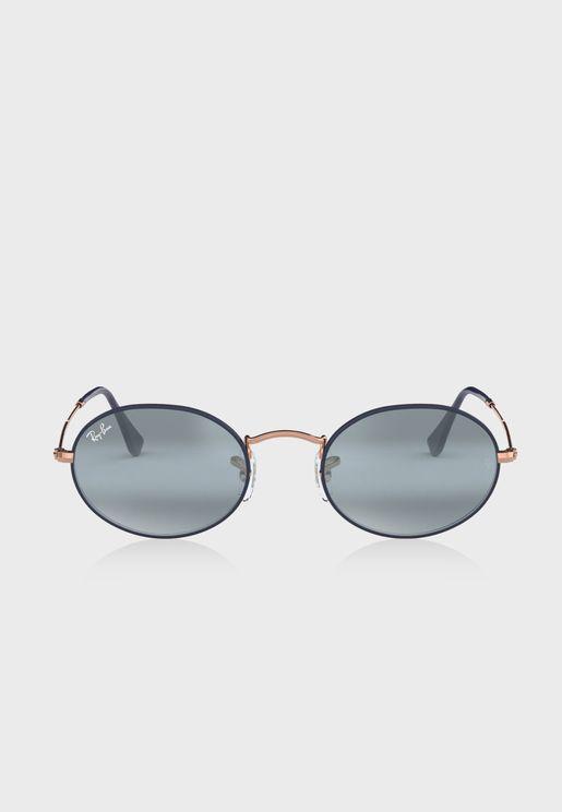 نظارة شمسية دائرية 0RB3447N