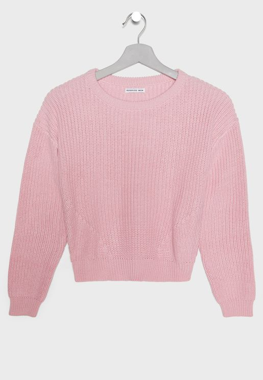 Teen Ribbed Sweater