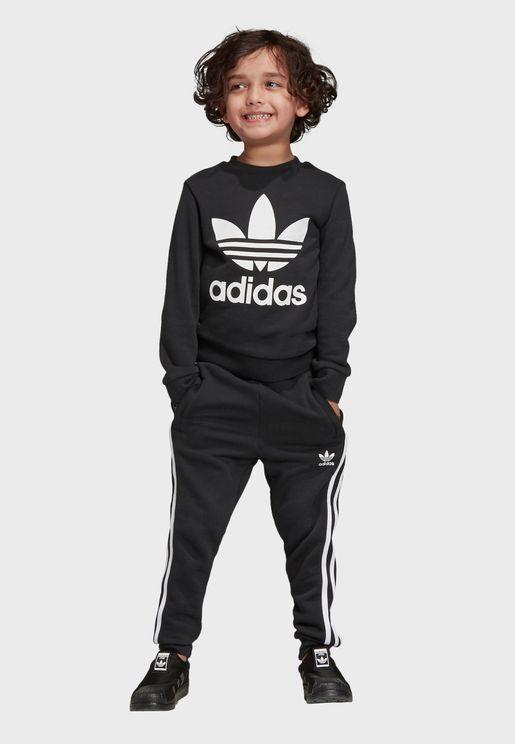 6109d1ae8 Kids Trefoil Set. adidas Originals