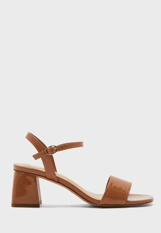 Gleawia Mid Heel Sandal