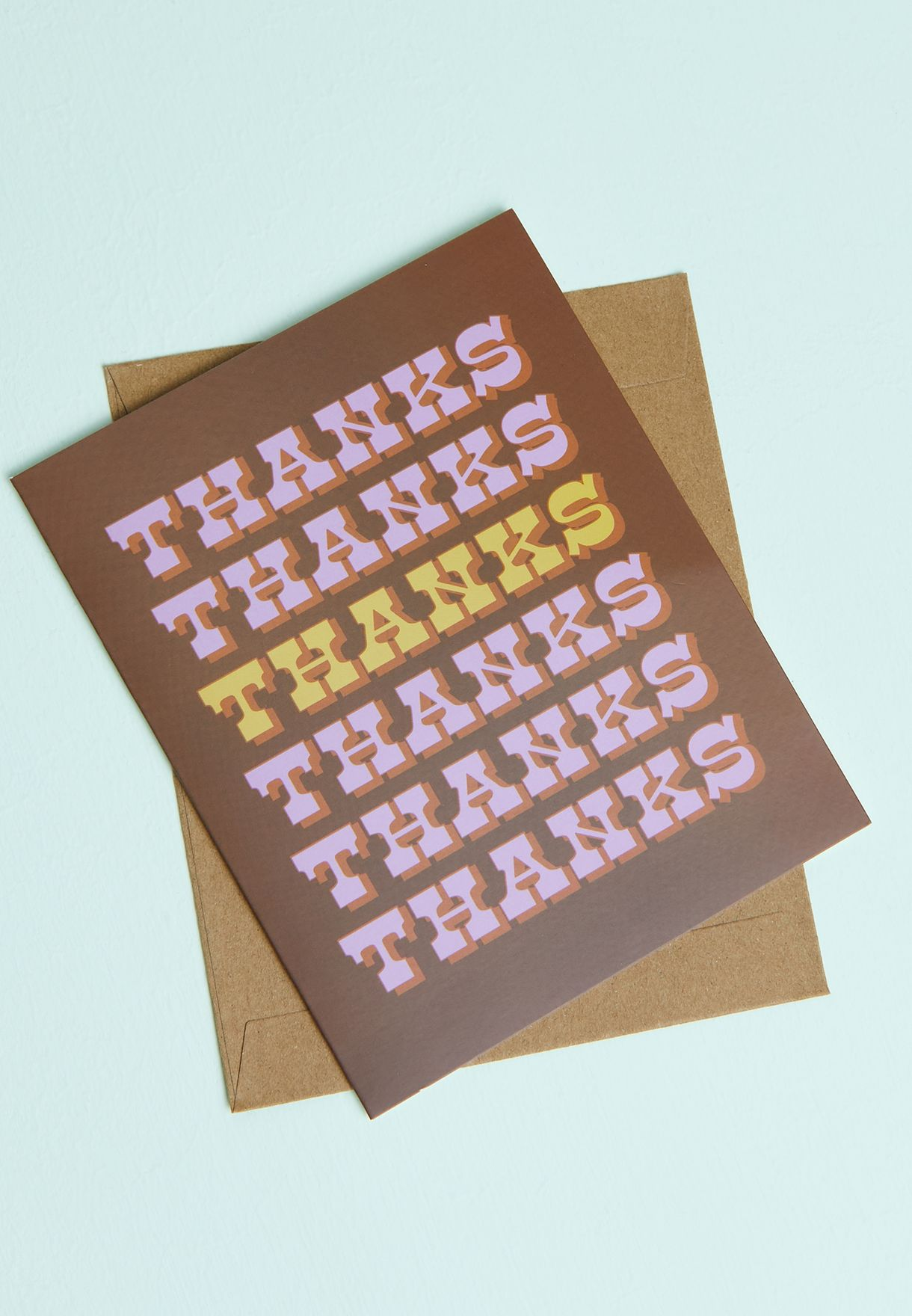 Thank Repeat Card
