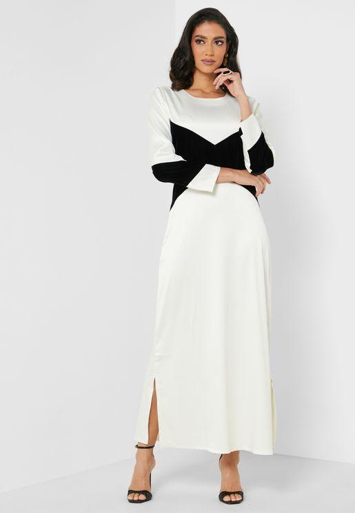 Layla Colorblock Dress