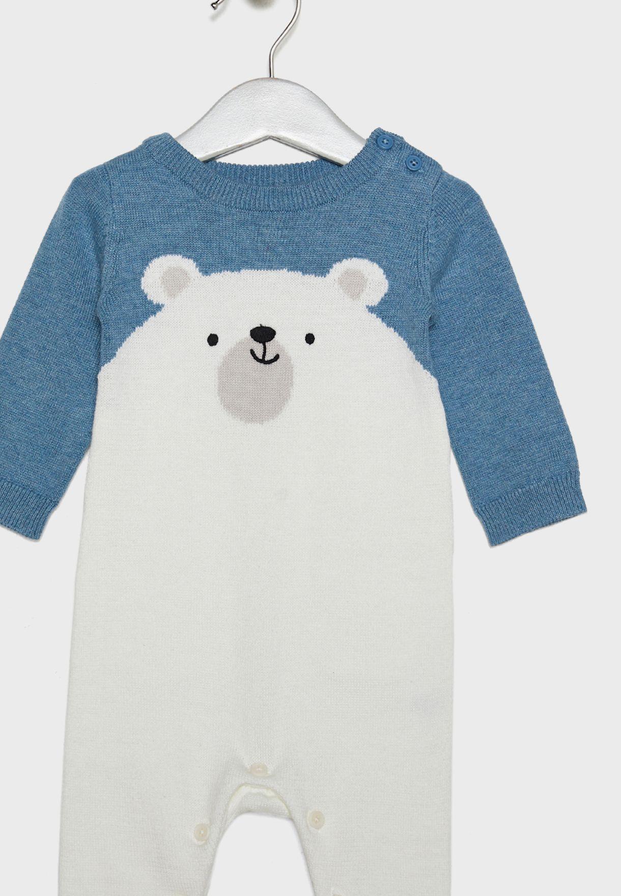 Infant Polar Bear Romper