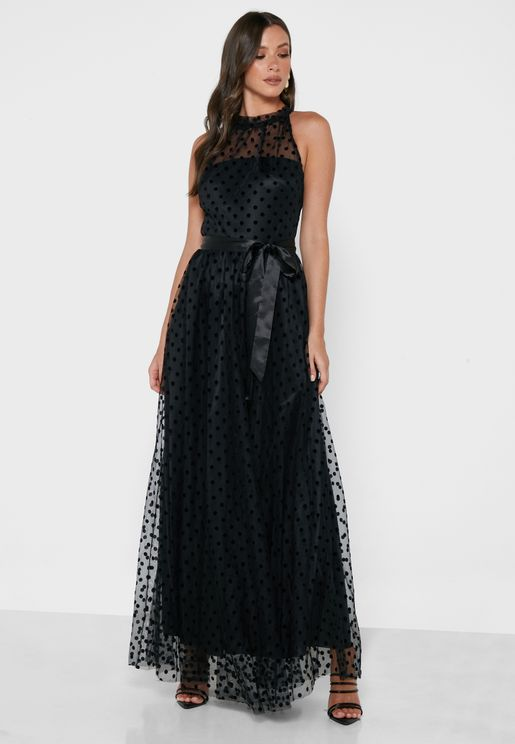 Halter Tulle Dress