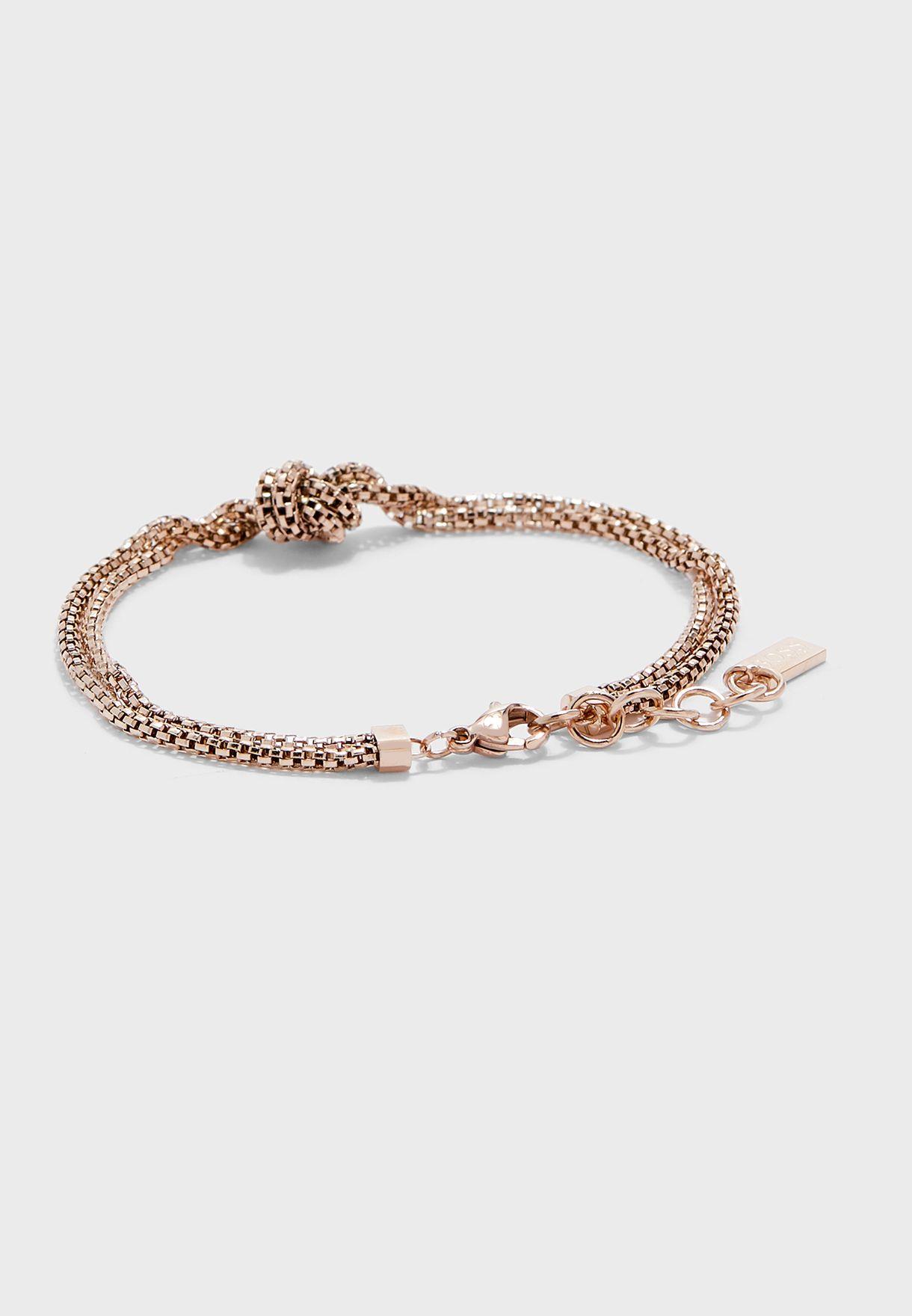 1580082 Rosette Knot Bracelet