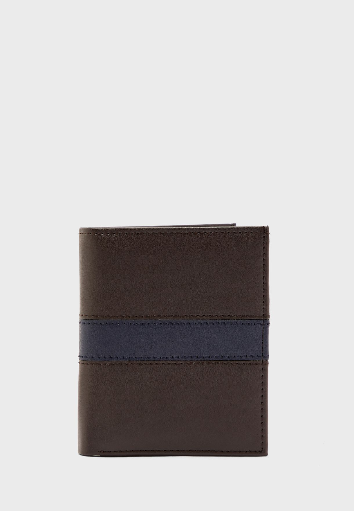 Leatherette Wallet With Coin Purse