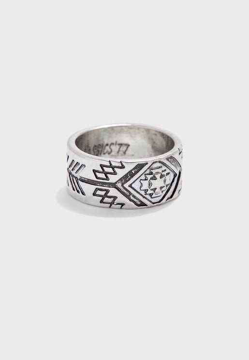 Abreojos Band Ring