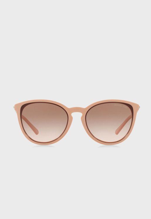نظارة شمسية مربعة عصرية