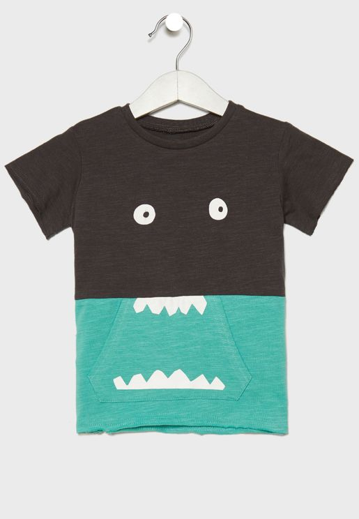 Infant Monster Graphic T-Shirt