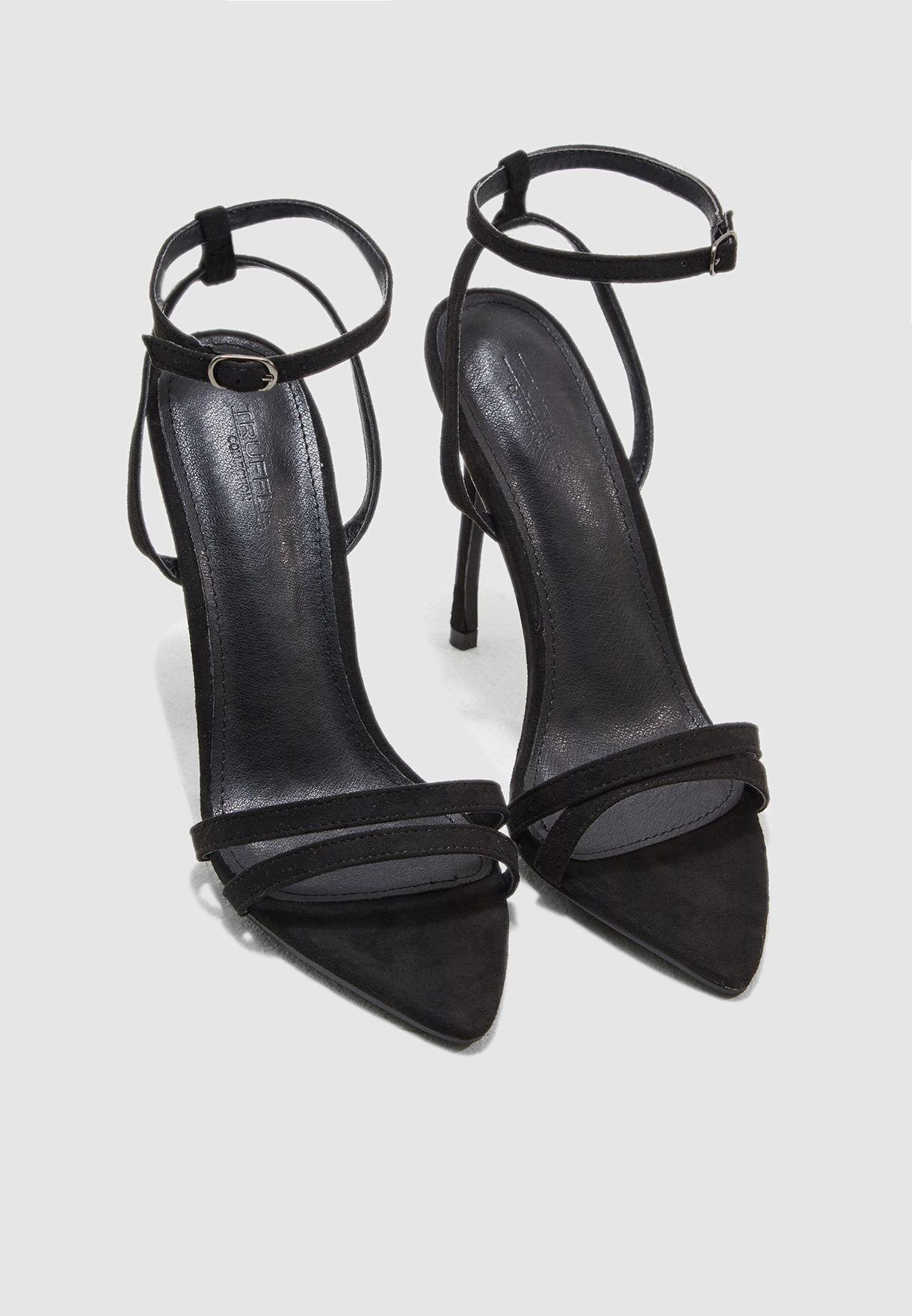 Open Toe Shoe Heel