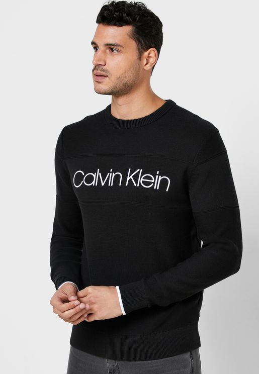 Front Logo Sweater