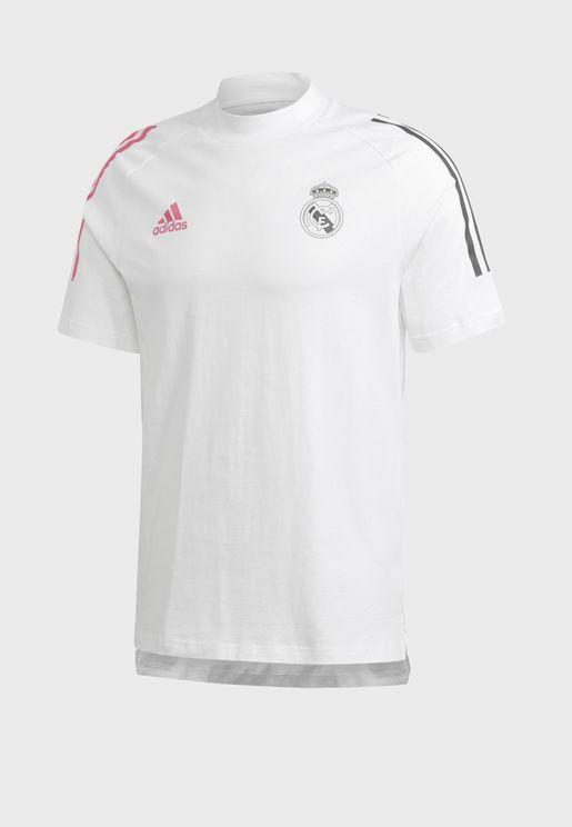 تيشيرت بشعار فريق ريال مدريد