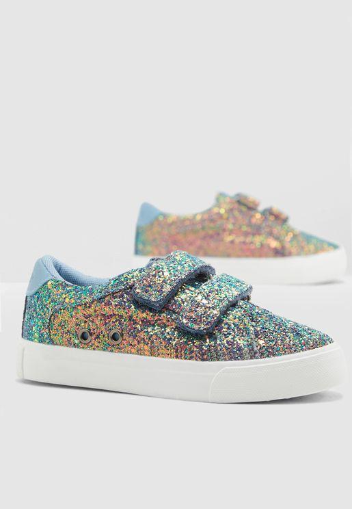 Kids Glitter Sneaker