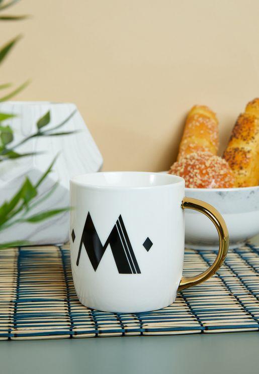 Mimo Monogram Mug - M