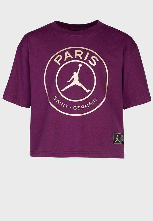 تيشيرت بشعار باريس سان جيرمان