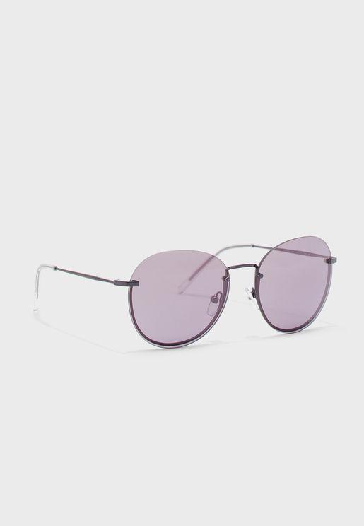 Dk101S Oval Shape Sunglasses