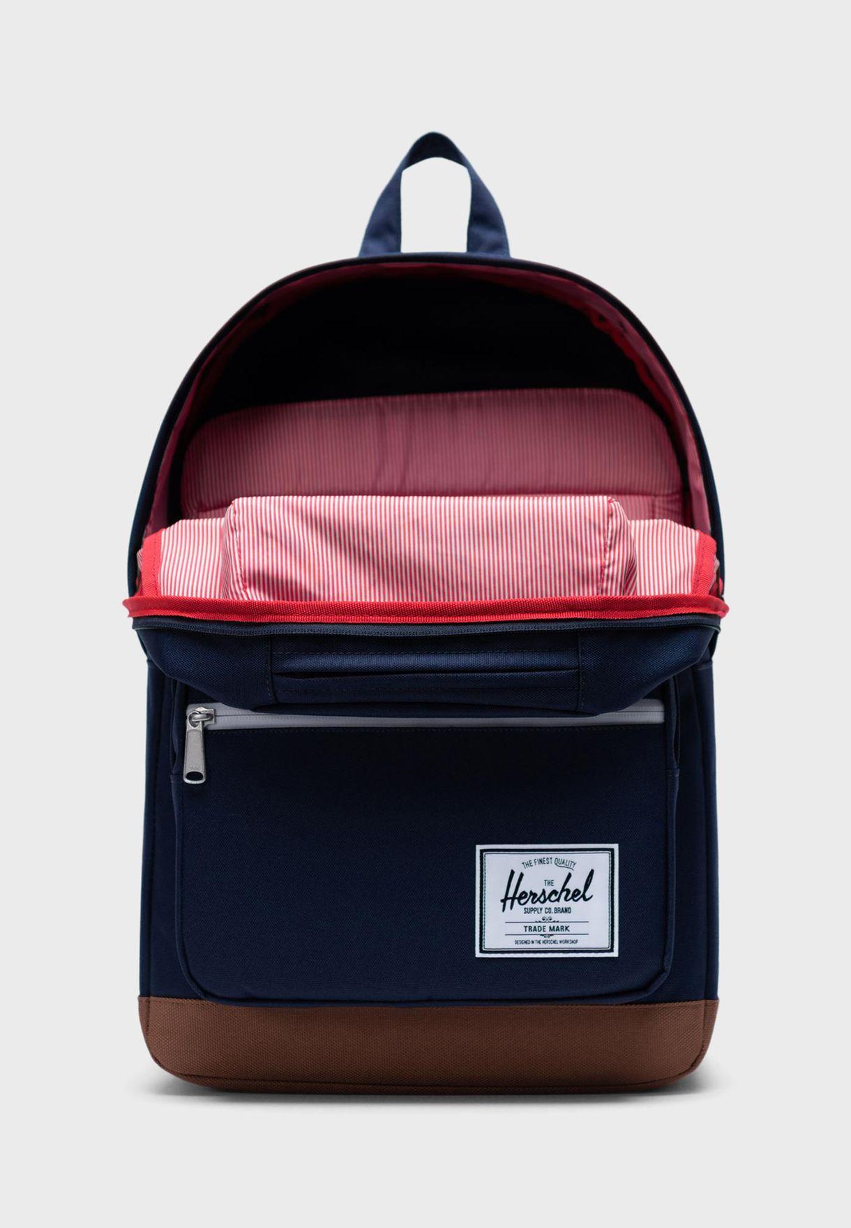 Front Zip Backpack