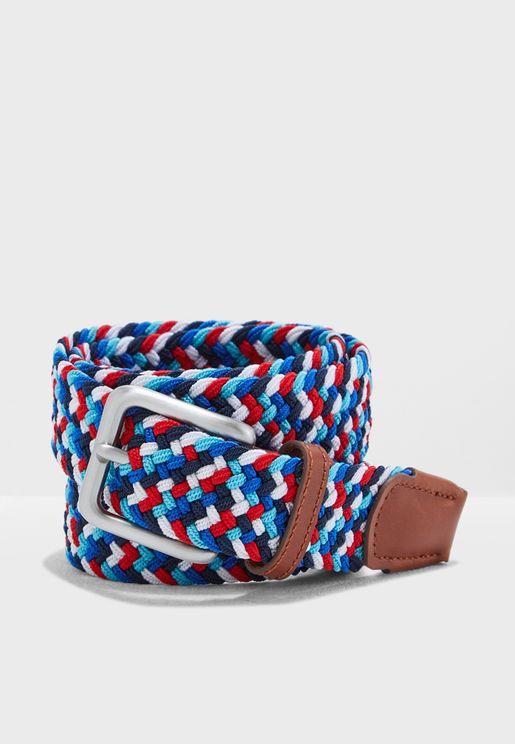 Spring Woven Belt