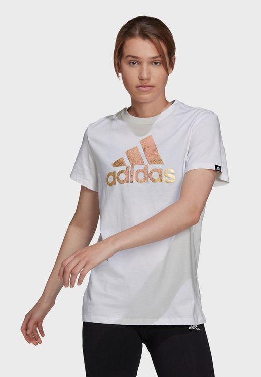 Foil Motion Graphic T-Shirt