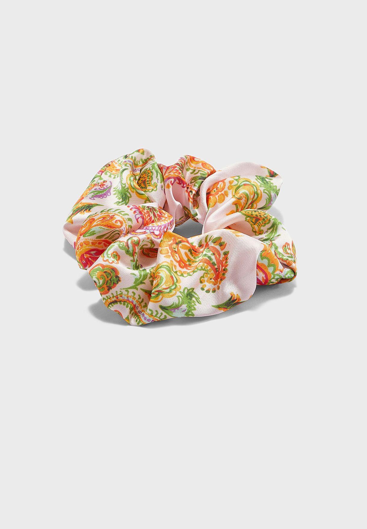 Paisley Scrunchie Headband