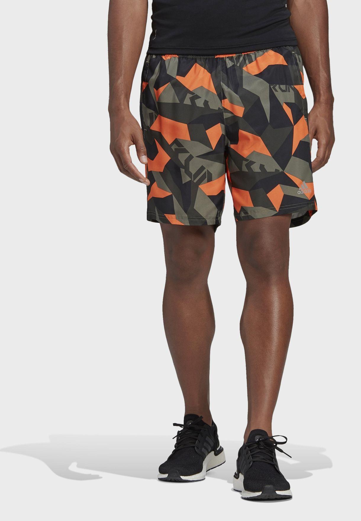 Run It Camo Shorts