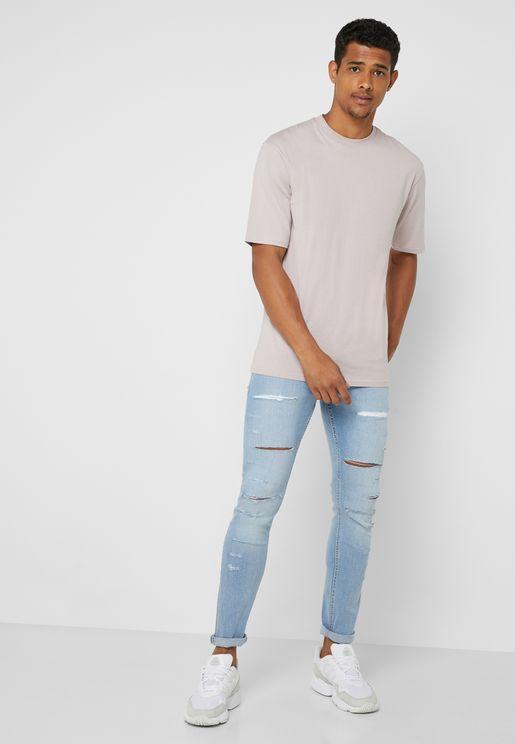Arnie Distressed Skinny Fit Jeans