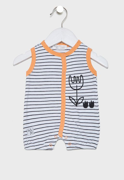 Infant Graphic Romper