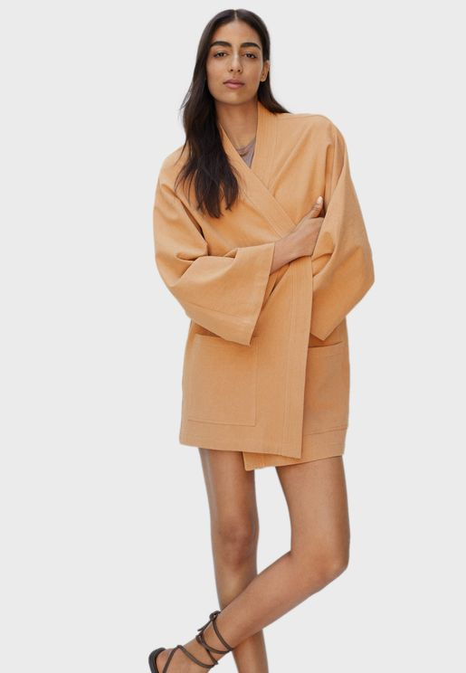 Wide Sleeves Oversized Jacket