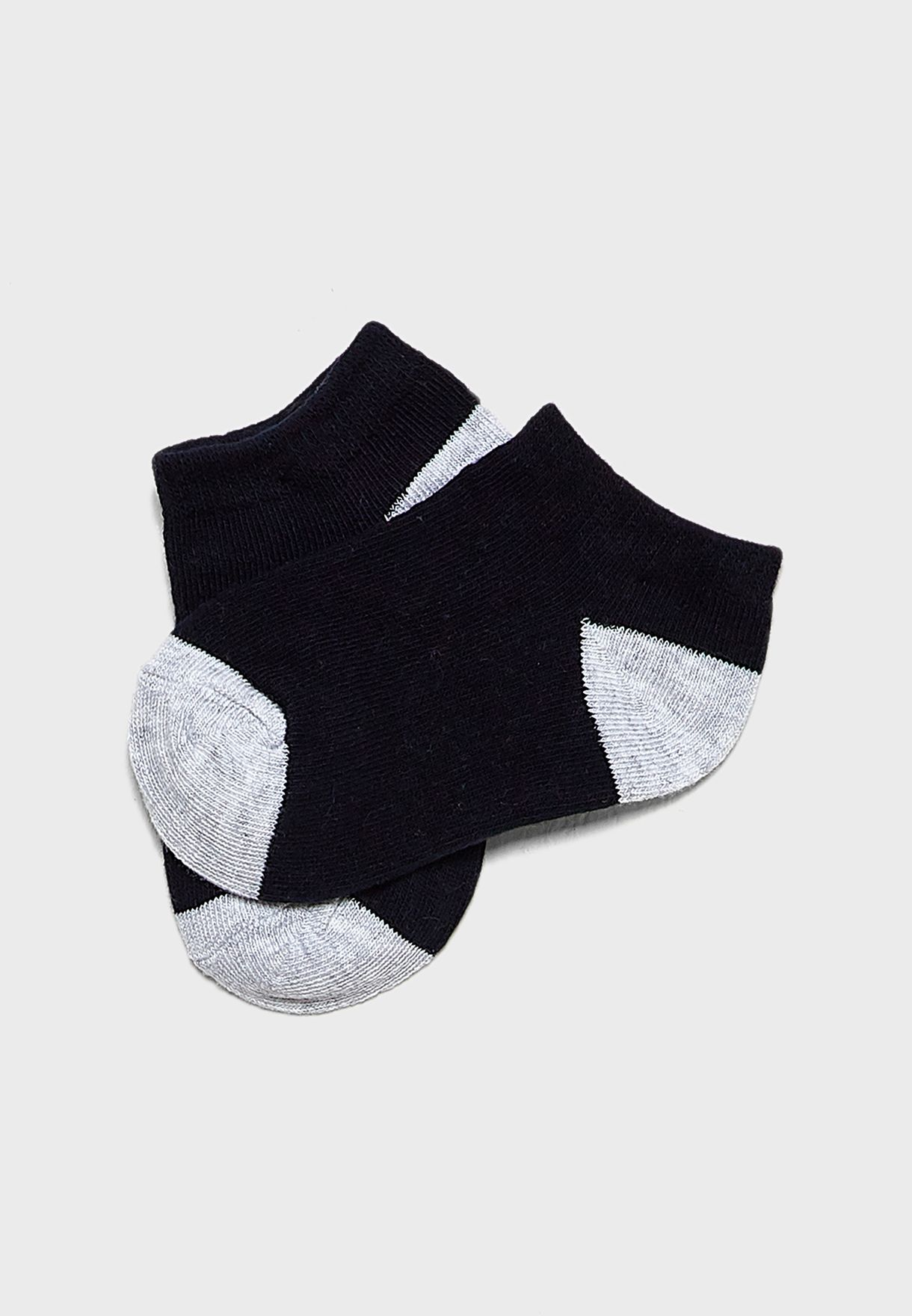 Kids 5 Pack Printed Socks
