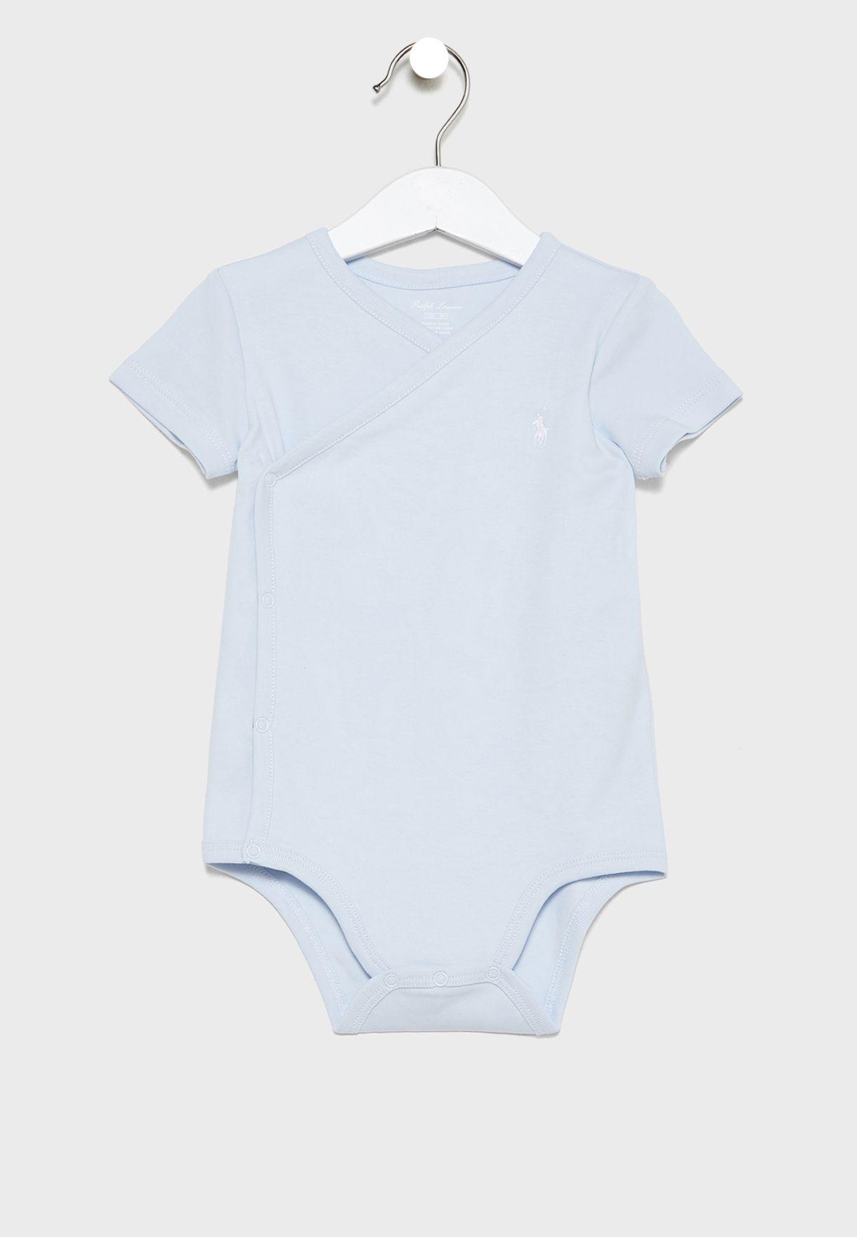 Infant 3 Pack Crossover Bodysuit