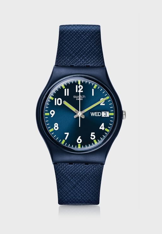 Sir Blue Analog Watch