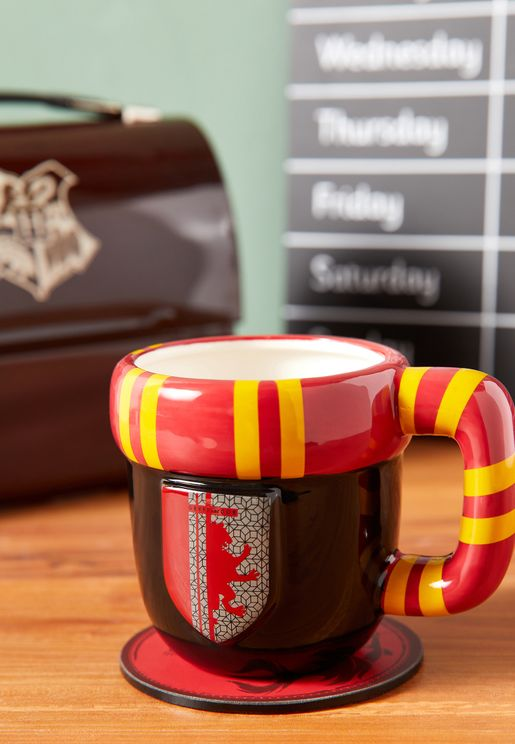 Harry Potter Gryffindor Shaped Mug