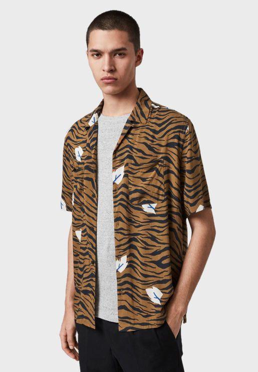 Lazaro Printed Relaxed Shirt