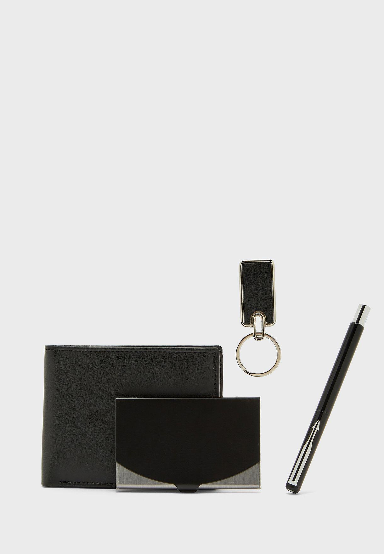 4 pack Wallet Gift Set