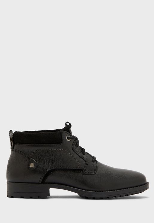 Leather Causal Boot