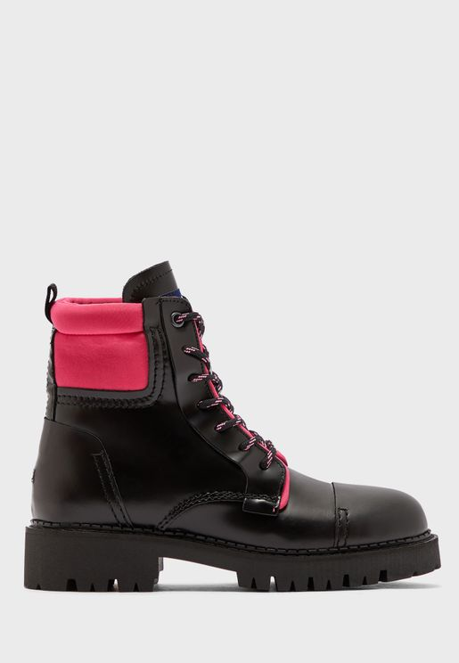 Fashion Pop Color Ankle Boot