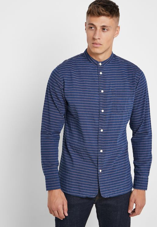 Slimgo Striped Shirt