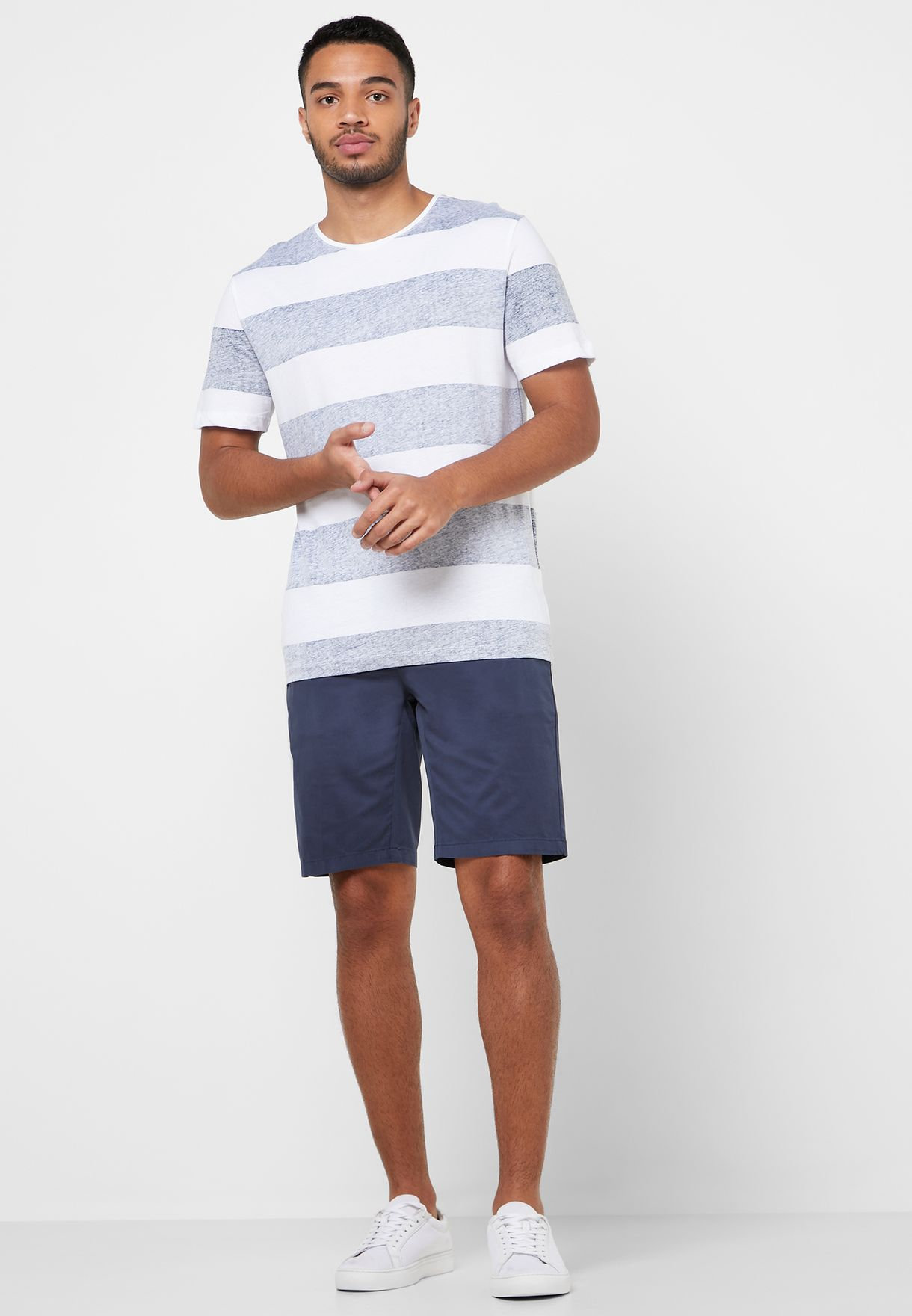 Casual Slim Fit Bermuda Shorts