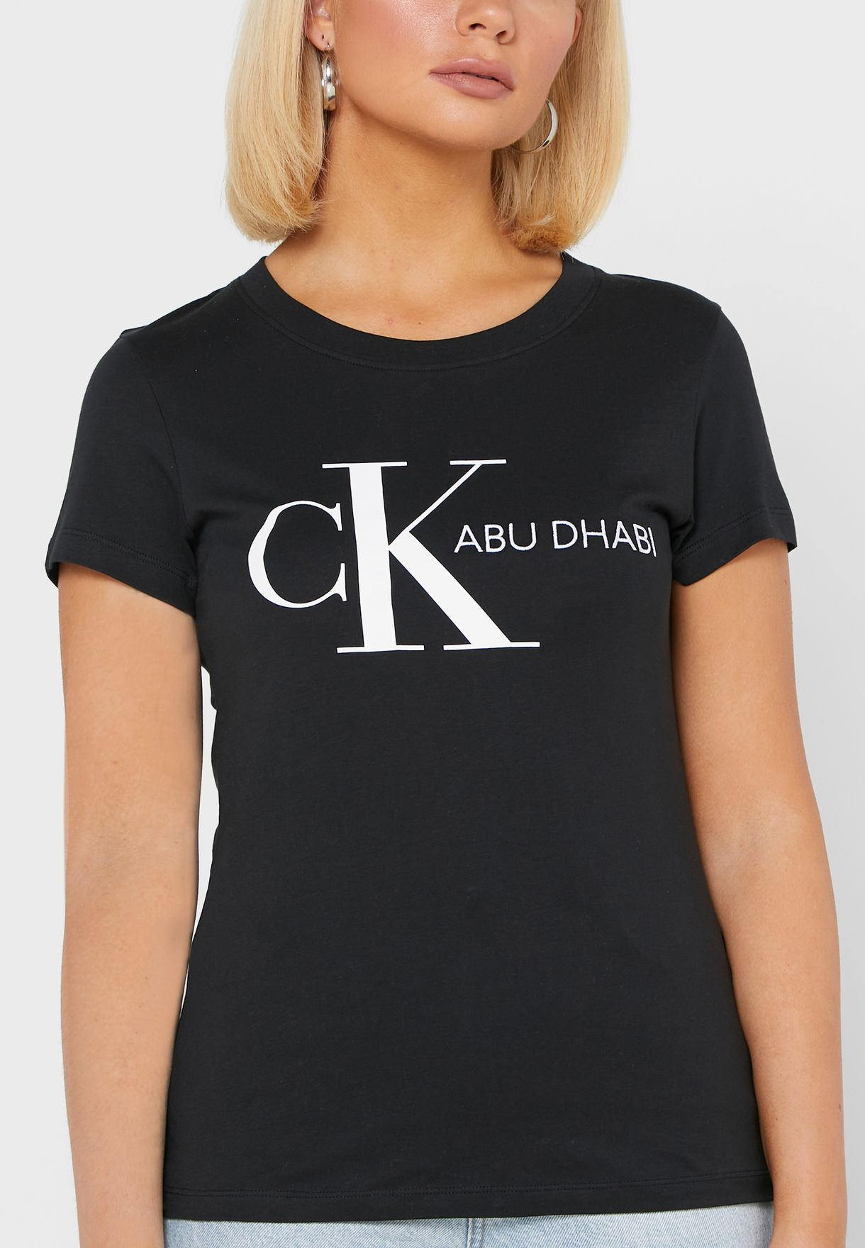 Abu Dhabi Round Neck T-Shirt