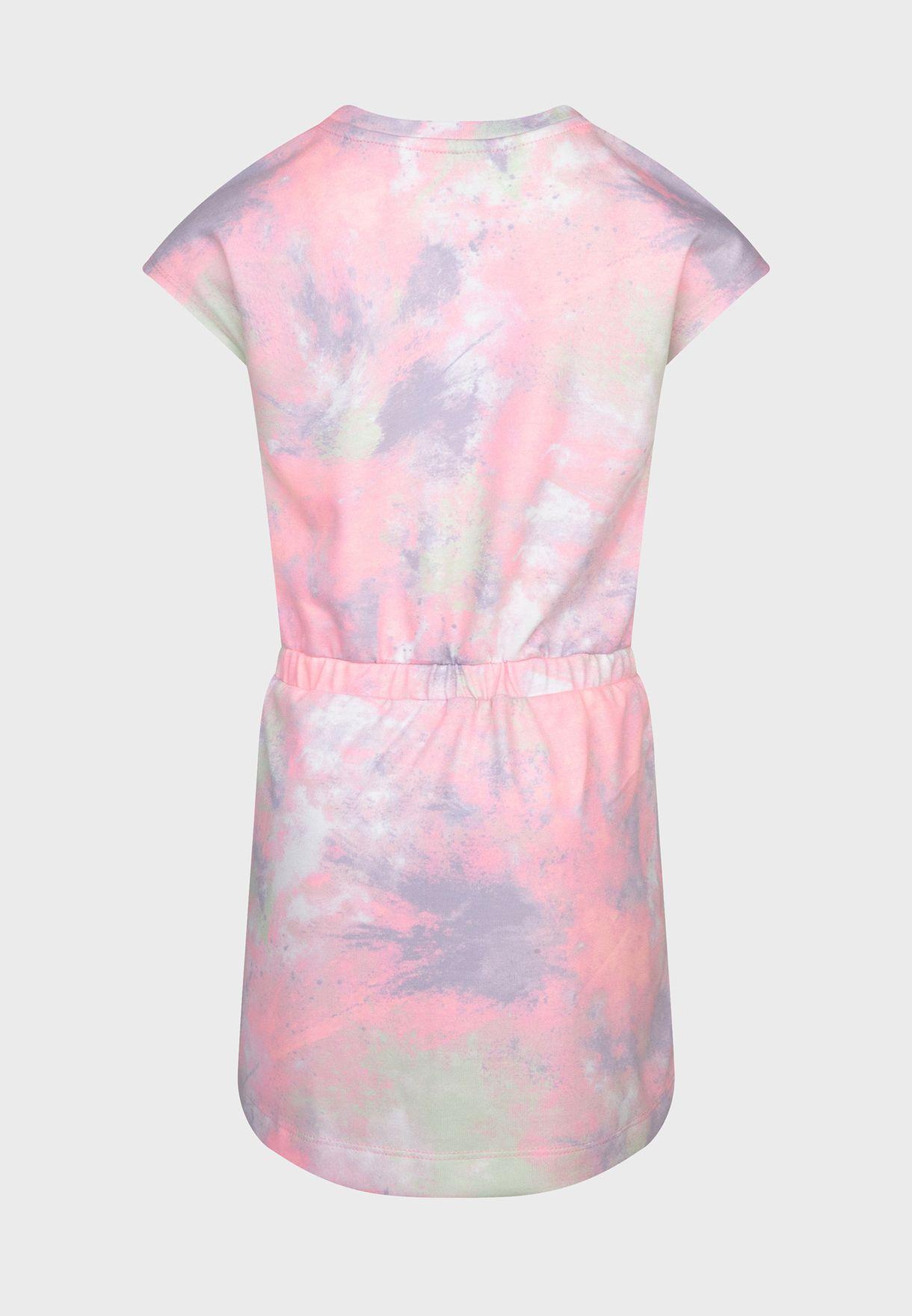 Kids Sky-Dye Knit Dress