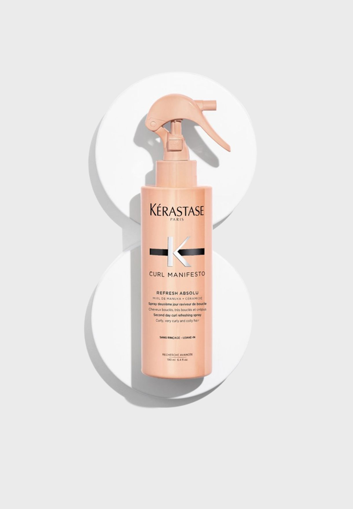 Curl Manifesto Curl Refreshing and Restyling Spray 190 ML