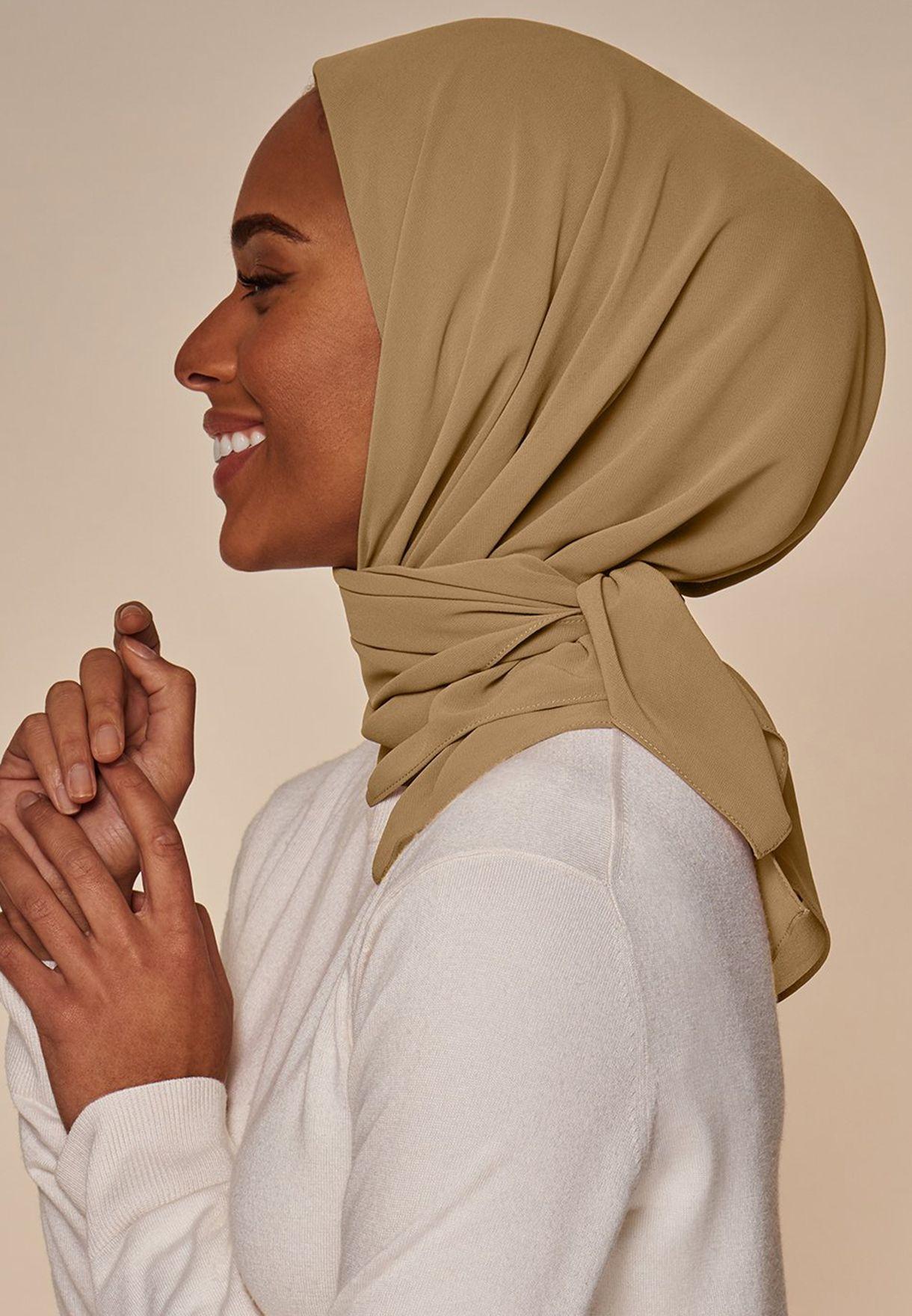 حجاب شيفون انيق