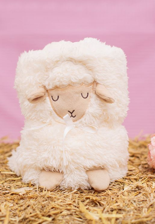 Baa Baa Lamb Baby Blanket