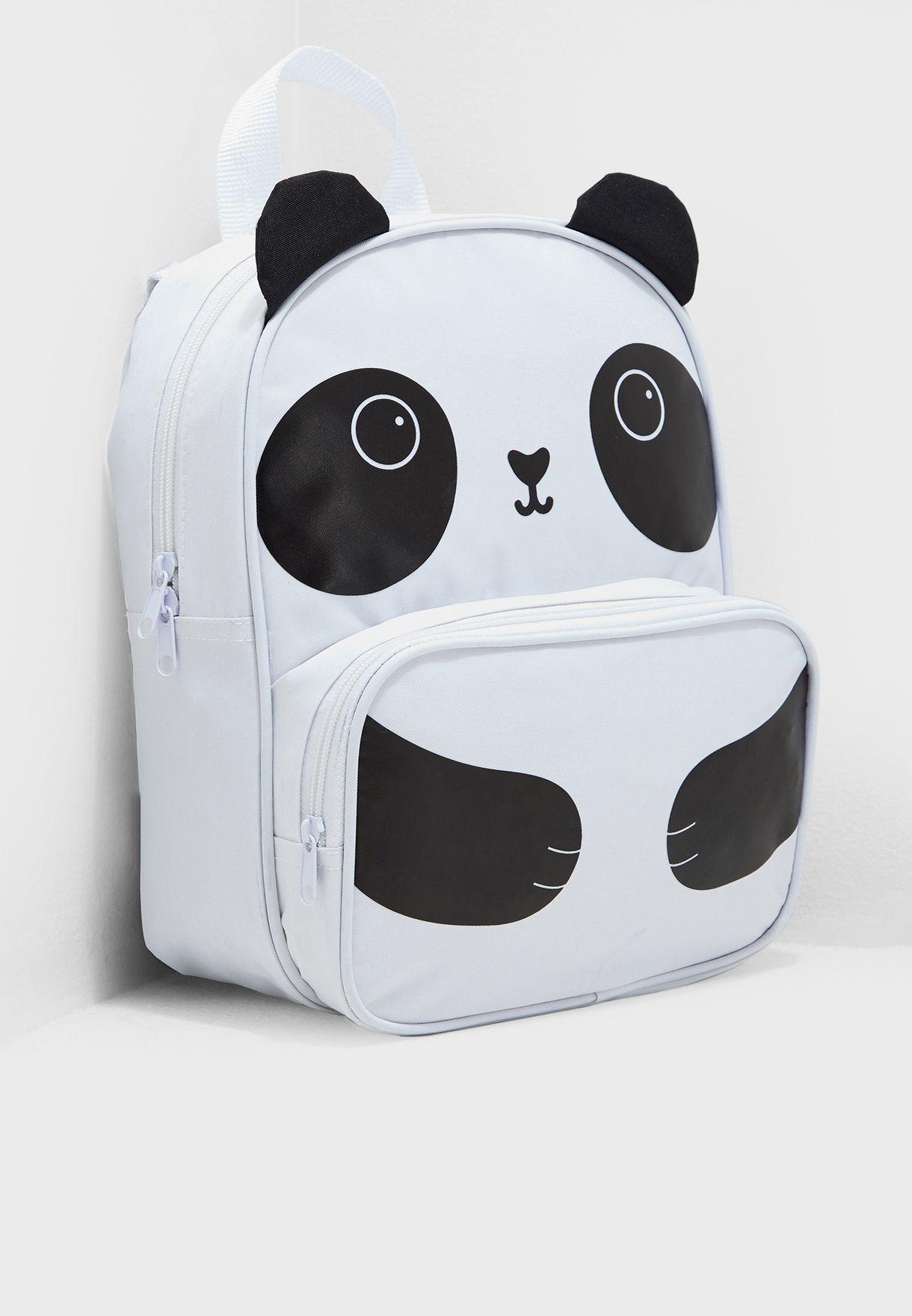 b3d947e35fa4 Shop Sass   Belle monochrome Kids Panda Backpack VAL022 for Kids in ...