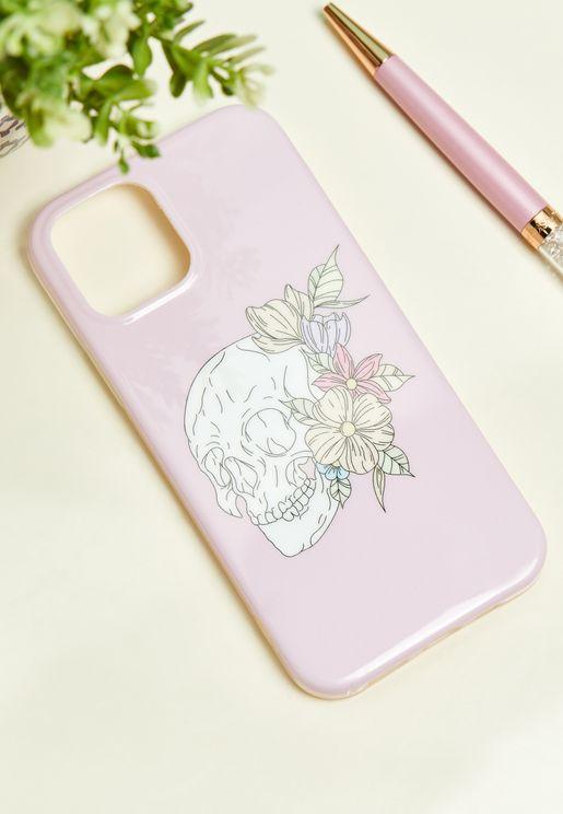 Floral Skull IPhone 12 / 12 Pro Case