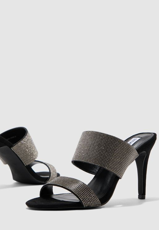 Empower-R Double Strap Mid Heel Sandal