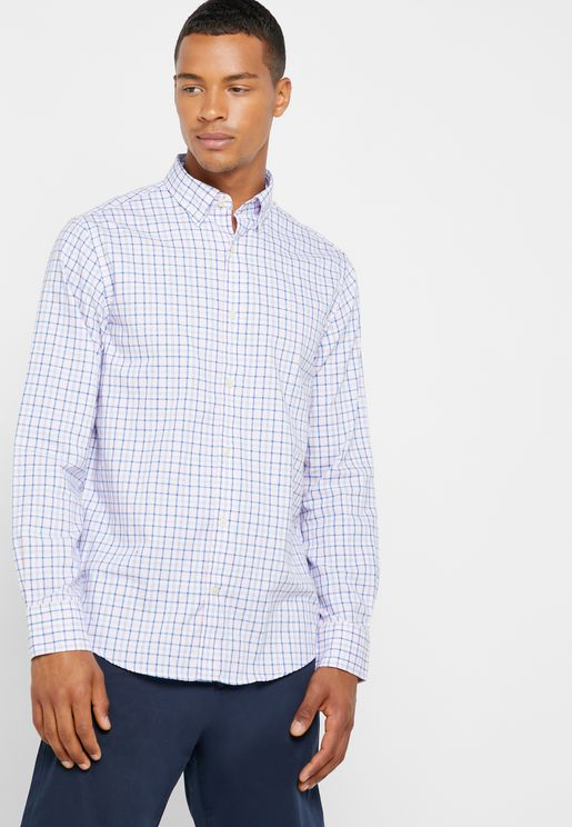 Oxford Checked Shirt