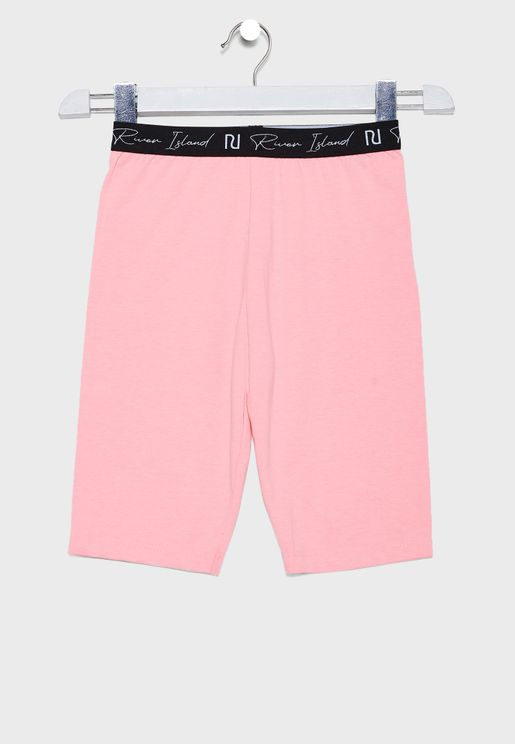Kids Logo Waistband Shorts