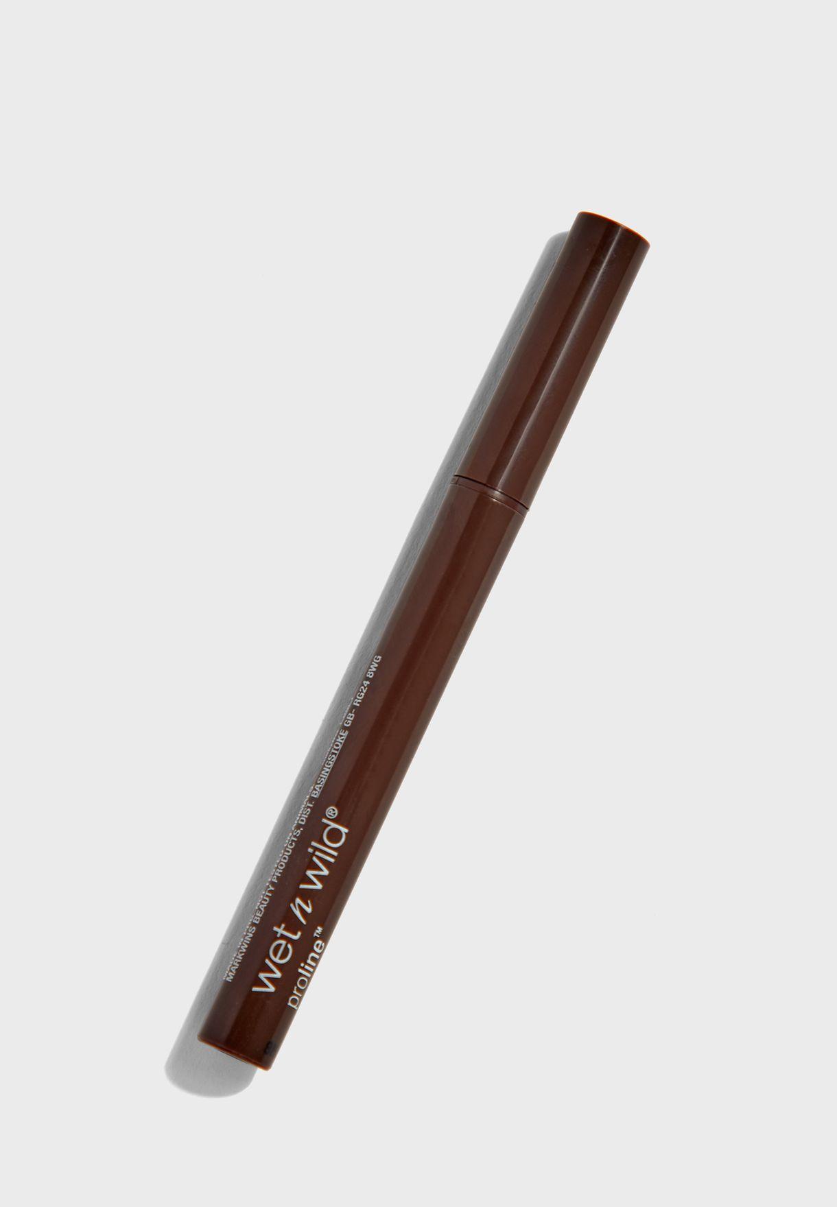 Felt tip eyeliner / crayon