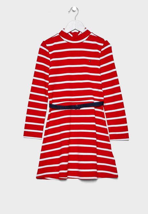 Teen Striped Dress